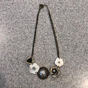 Park Lane Floral Statement necklace